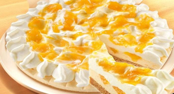 Pay de queso con frutas