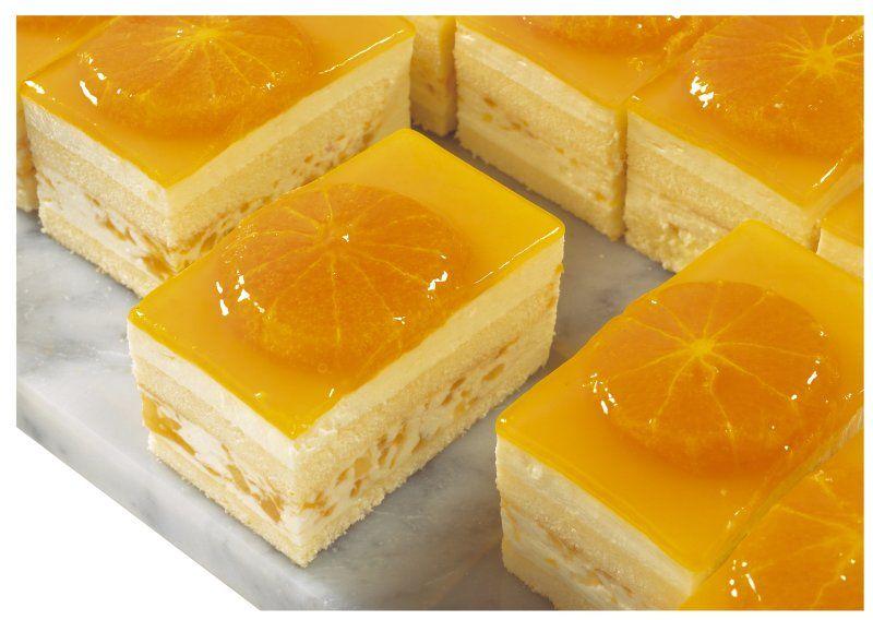 postre con naranjas