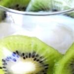 Kiwis con crema