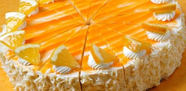cheese cake de naranja