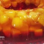 Gelatina con fruta