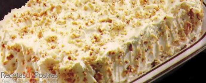 Pastel de cacahuate