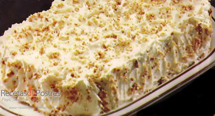 pastel de cachuate