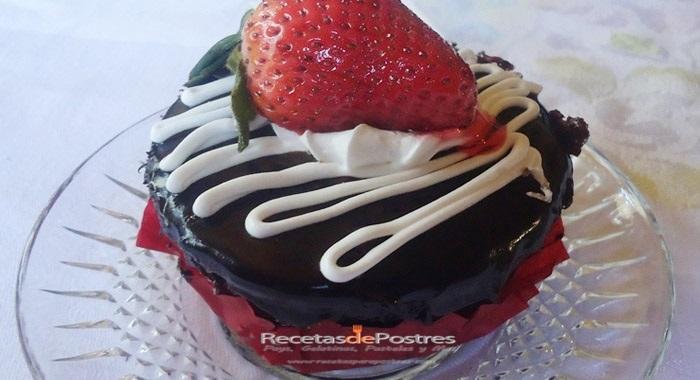 pastelito de chocolate
