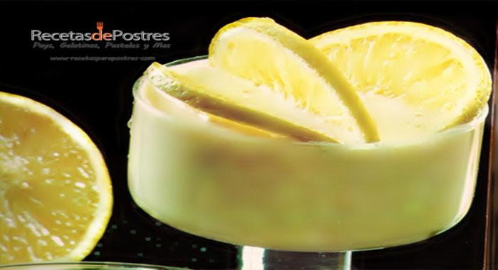 crema fria de naranja