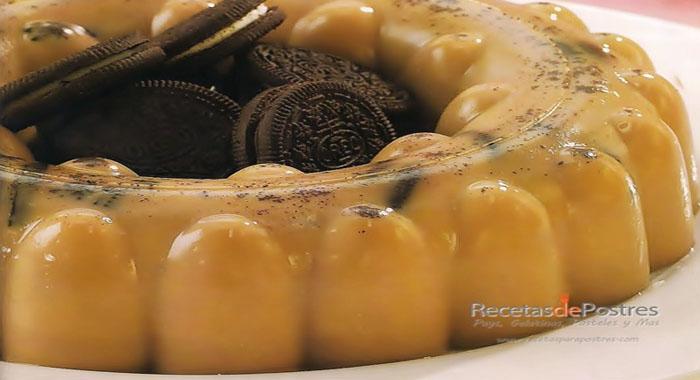 gelatina con licor de cafe