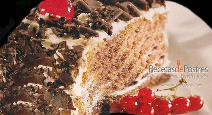 pastel de tres leches chocolate y cajeta