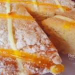 Pastel  económico de naranja