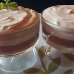 Triffle de chocolate y café