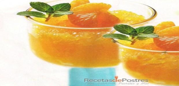 bebida de mandarina