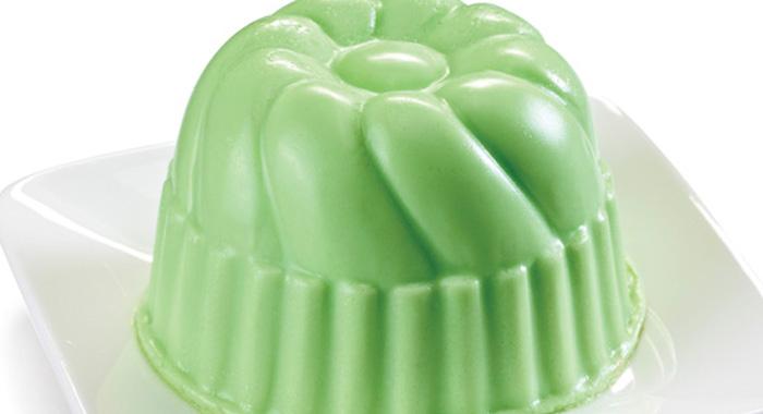 gelatina de yerbabuena