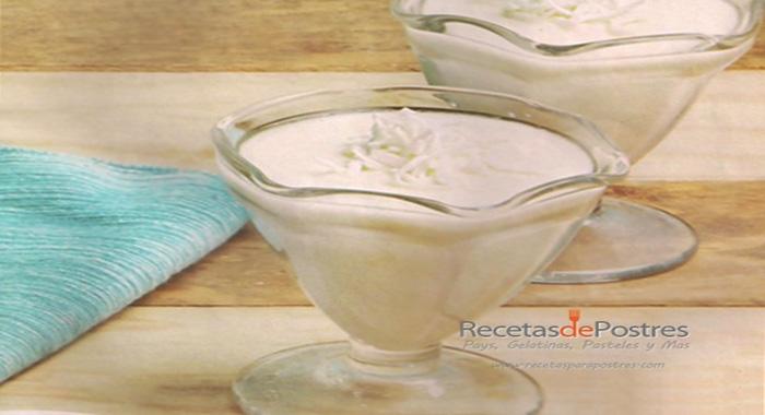 natilla de coco