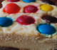 barras de queso con M&M'S