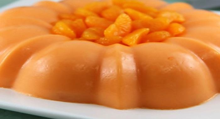 Gelatina de mandarina recetas para postres - Postre con mandarinas ...