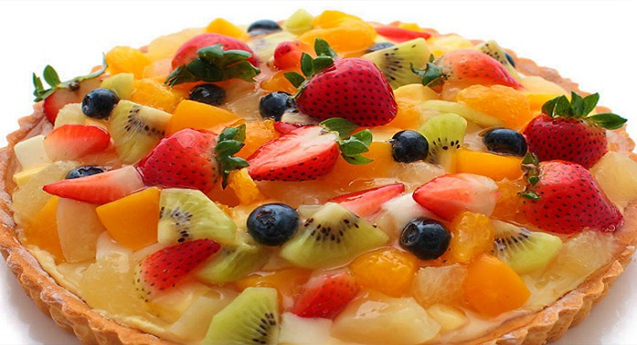 Tarta con frutas recetas para postres - Postres con frutas faciles ...
