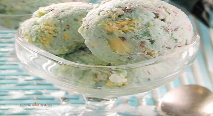Helado con galletas suavicremas
