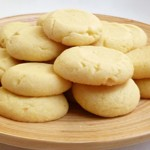 Galletas de chocolate blanco.