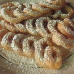 Espirales de azúcar.