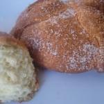Tradicional pan de muertos