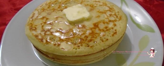 Pancakes rápidos.