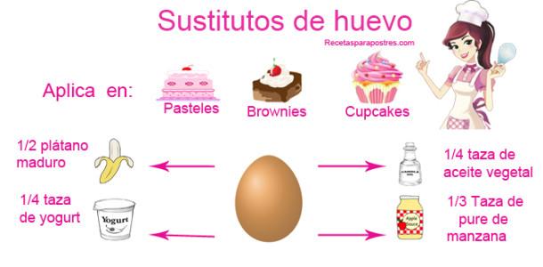 Sustitutos de huevo
