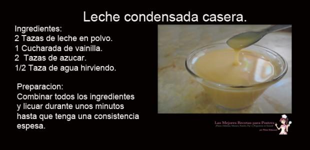 leche condensada casera